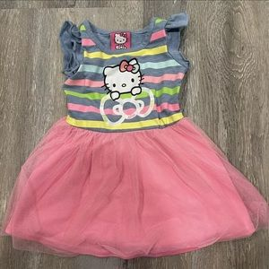 Hello Kitty By Sanrio Girls Dress Size 12-18 Month